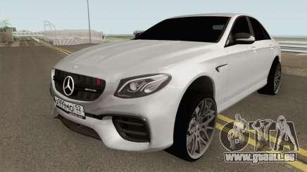 Mercedes-Benz E63S AMG für GTA San Andreas
