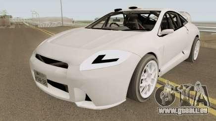 Mitsubishi Eclipse Clean JDM 2009 pour GTA San Andreas
