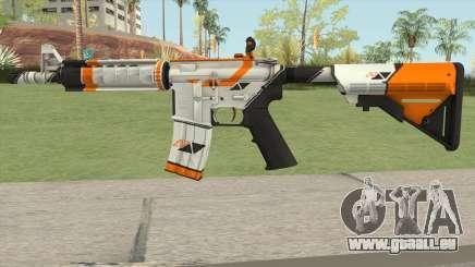 CS-GO M4A4 Asiimov für GTA San Andreas