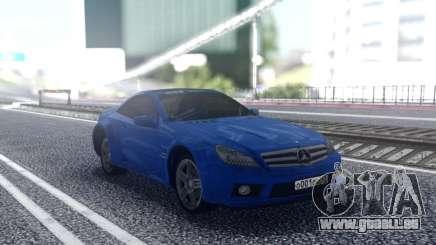 Mercedes-Benz SL65 Blue pour GTA San Andreas
