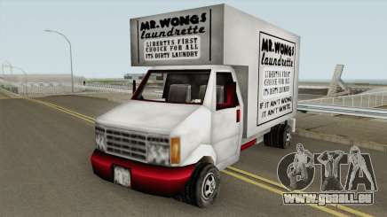 Mr Wongs Laundry Truck (GTA III) für GTA San Andreas