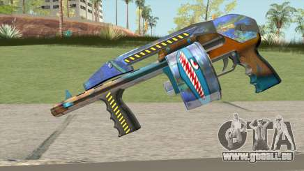 Shotgun (Monster Skin) pour GTA San Andreas
