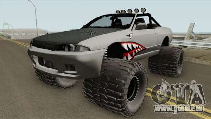 Nissan Skyline R32 Cabrio Off Road Shark für GTA San Andreas