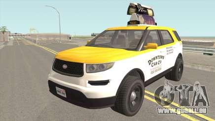 Vapid Scout Taxi GTA V pour GTA San Andreas