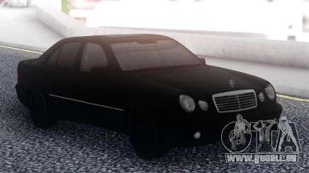Mercedes-Benz E55 Black Sedan pour GTA San Andreas