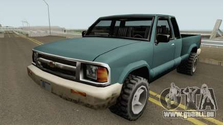 Chevrolet S10 Low Poly Improved Version für GTA San Andreas