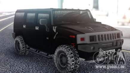 Hummer H2 Snow pour GTA San Andreas