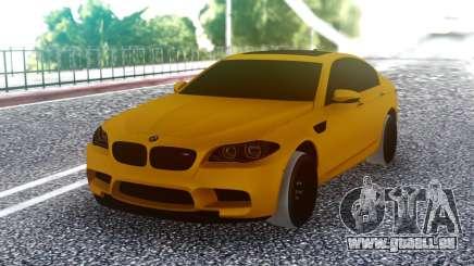 BMW M5 F10 Orange für GTA San Andreas
