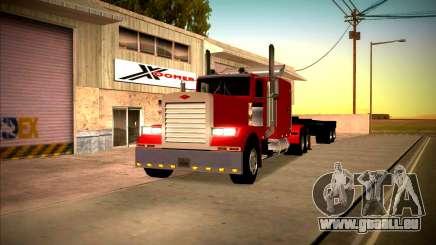 Peterbilt 359 SA Style pour GTA San Andreas