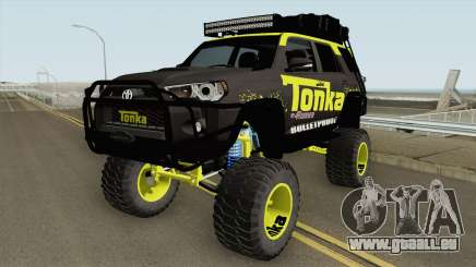 Toyota 4Runner Tonka Truck pour GTA San Andreas