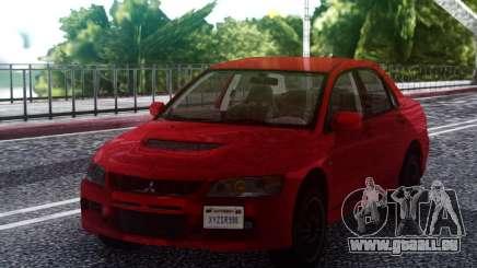 2006 Mitsubishi Lancer Evolution IX MR pour GTA San Andreas