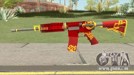 Rules Of Survival AR15 Wild Dragon pour GTA San Andreas