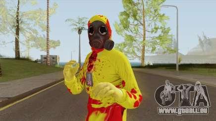 HazMat Skin Zombie pour GTA San Andreas