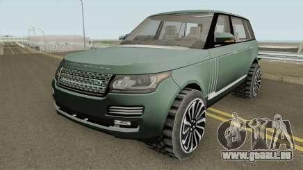 Range Rover SV Autobiography pour GTA San Andreas