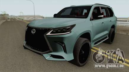 Lexus LX570 Black Edtion 2019 pour GTA San Andreas
