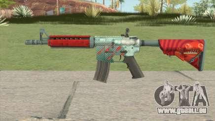 CS-GO M4A4 Bullet Rain für GTA San Andreas