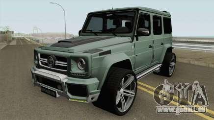 Mercedes-Benz G700 Brabus Widestar HQ pour GTA San Andreas