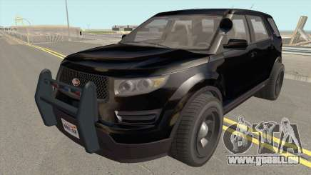 Vapid Police Cruiser Unmarked GTA V pour GTA San Andreas