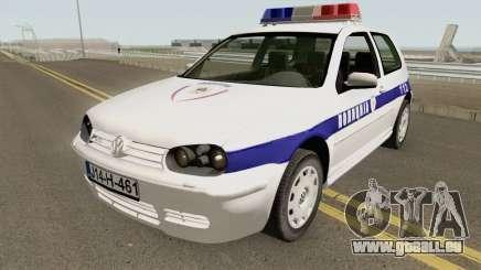 Volkswagen Golf IV Policija Republike Srpske pour GTA San Andreas