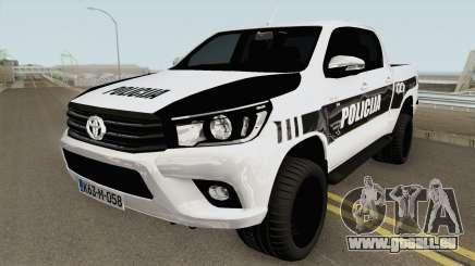 Toyota Hilux POLICIJA BiH pour GTA San Andreas