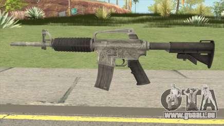 CS:GO M4A1 (Basilisk Skin) für GTA San Andreas