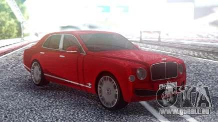 Bentley Mulsane für GTA San Andreas