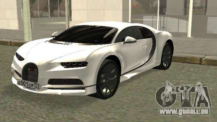 Bugatti Chiron Winter Edition für GTA San Andreas