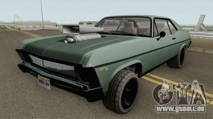 Declasse Vamos GTA V (Custom Bonnet) pour GTA San Andreas