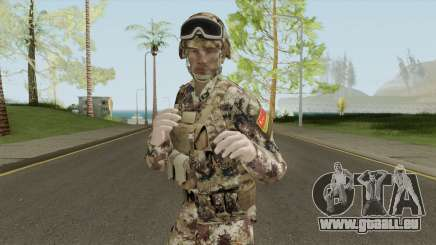 Chinese Peoples Liberation Army (Type 07 Desert) pour GTA San Andreas