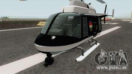 Hungarian Police Maverick (Magyar Rendorhelikop) pour GTA San Andreas
