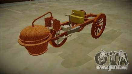 Cugnot Steam Car 1771 pour GTA San Andreas