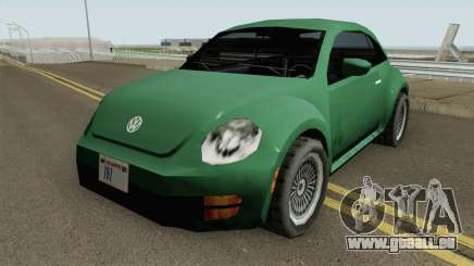 Volkswagen New Beetle 2012 (SA Style) für GTA San Andreas
