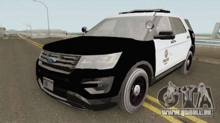 Ford Explorer Police Interceptor LAPD 2017 pour GTA San Andreas