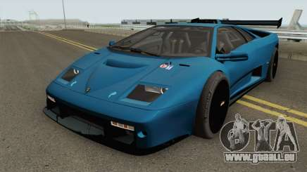 Lamborghini Diablo GT-R HQ 1999 pour GTA San Andreas