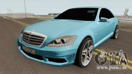 Mercedes-Benz W221 With Polish License Plates pour GTA San Andreas