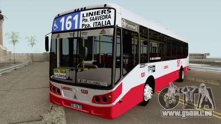 Todobus Pompeya II Agrale MT15 Linea 161 Interno pour GTA San Andreas
