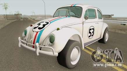Volkswagen Herbie 1963 pour GTA San Andreas