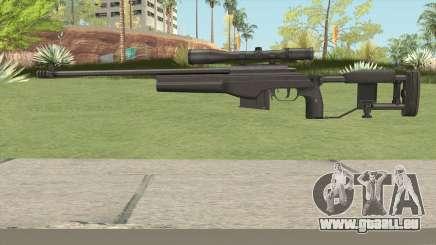 SAKO TRG-42 Sniper Rifle (Black) pour GTA San Andreas