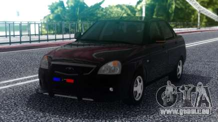 Lada Priora Police Lights pour GTA San Andreas