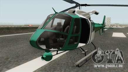 Los Santos County Sheriff Helicopter für GTA San Andreas