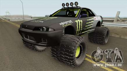 Nissan Skyline R32 Off Road Monster Energy für GTA San Andreas