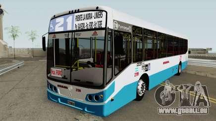Todobus Pompeya II Agrale MT17 Linea 21 Interno pour GTA San Andreas