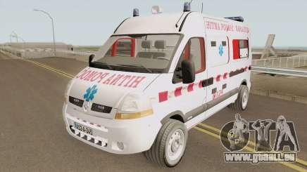 Renault Master Hitna Pomoc Ambulance Sarajevo für GTA San Andreas