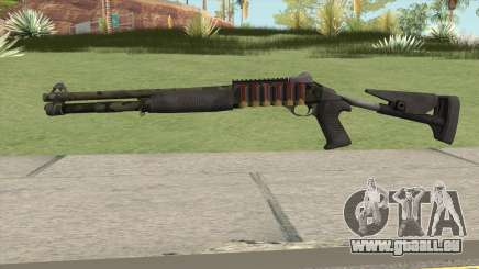 Benelli M4 SEALs Jungle Camo pour GTA San Andreas