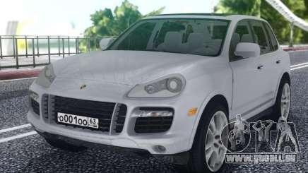 Porsche Cayenne White für GTA San Andreas