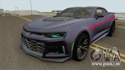Chevrolet Camaro ZL1 2018 Hennessey pour GTA San Andreas