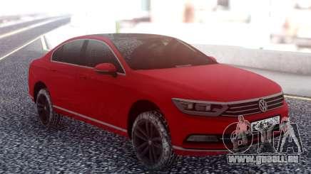 Volkswagen Passat B8 Red pour GTA San Andreas