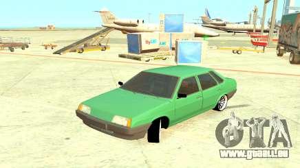 VAZ 21099 Vert pour GTA 4