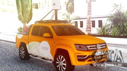 Volkswagen Amarok V6 Yandex.Karte für GTA San Andreas
