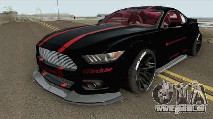 Ford Mustang GT Liberty Walk 2015 pour GTA San Andreas